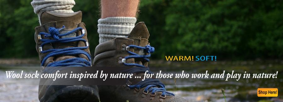Wool Socks - All natural wool socks for hiking